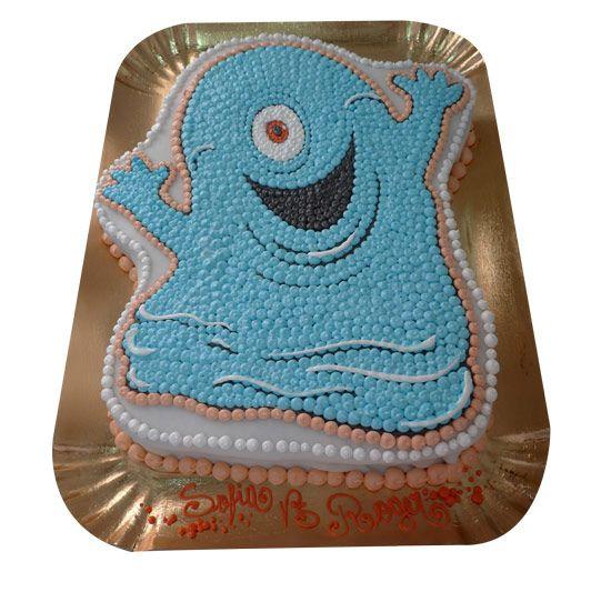monster vs aliens birthday cake | Bob from Monsters vs Aliens — Children's Birthday Cakes