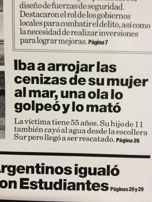 #Periodismo Titulares que matan