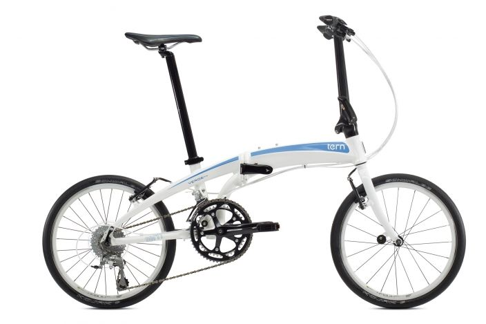 Tern Verge P18 Folding Bicycle. Not just light and fast, but also affordable.