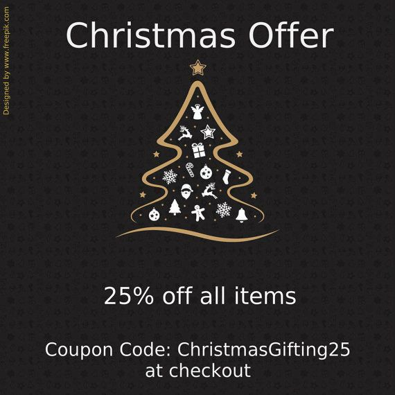 25% off, special Christmas offer, shop discount coupon code, handmade nature jewelry, botanical jewelry, Christmas gifts for women/for her