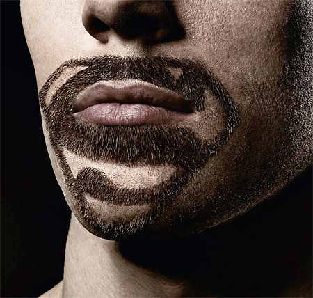 Creative beards groomed to look like famous logos of different superheroes.  Superhero facial hair demonstrates the precision and capabilities of Braun CruZer line of electric shavers and trimmers. Original idea by BBDO Proximity advertising agency from Germany.