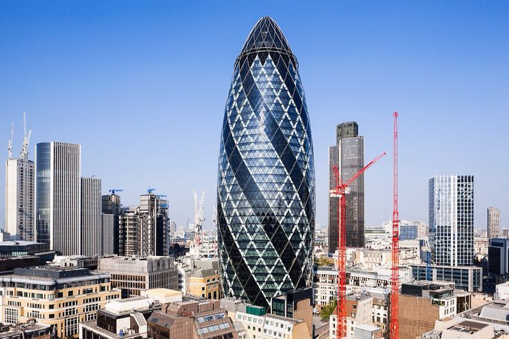 Norman Foster's 30 St Mary Axe