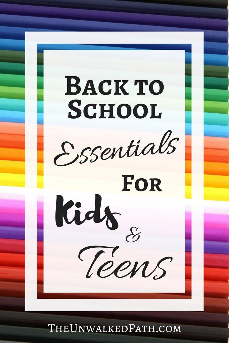 Make sure you have all your Back to School Essentials for Kids and Teens! Backpacks, Lunch Boxes, Storage and Organization, Misc.