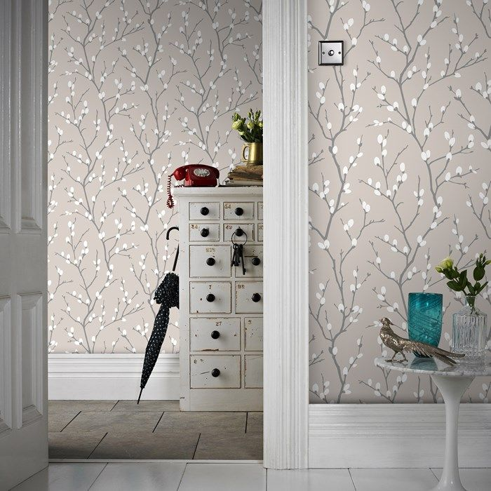 Karma Taupe / Charcoal Wallpaper by Graham and Brown