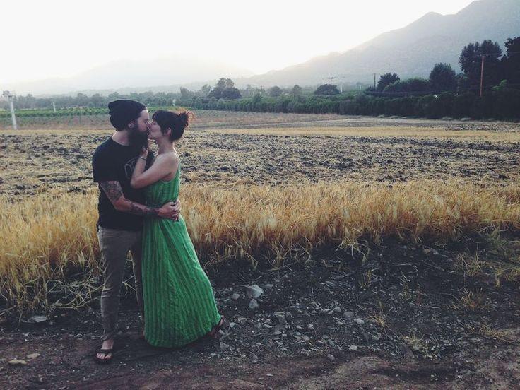 True Love Bleubird and her husband @Melissa Squires Henson james / bleubird blog
