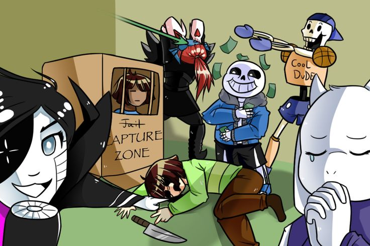 [Undertale] draw the squad like this by Cloudy-Eevee on DeviantArt