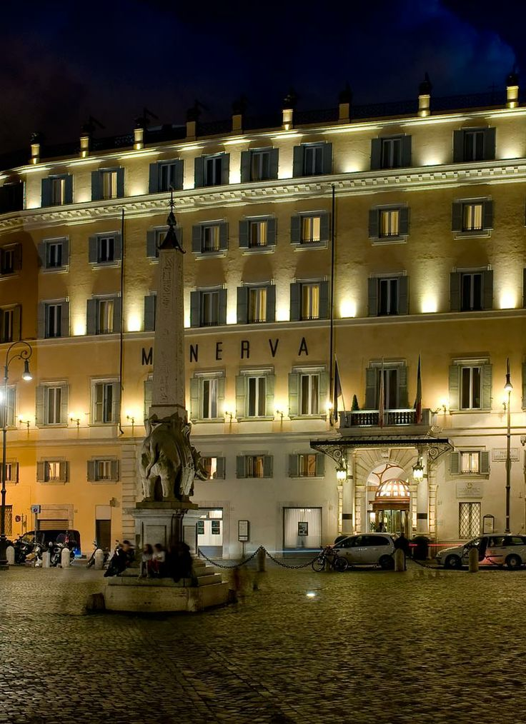 Grand Hotel de la Minerve in Roma-Italy   ProntoHotel