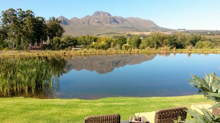 Mont Marie dam, Stellenbosch