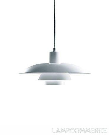 Louis Poulsen PH 4/3 hanging lamp Design Poul Henningsen