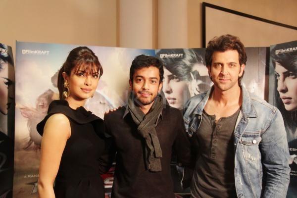 Hrithik Roshan and Priyanka Chopra promote Krrish 3 in London