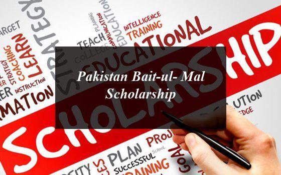 How to Get Pakistan Bait-ul- Mal Scholarship ...