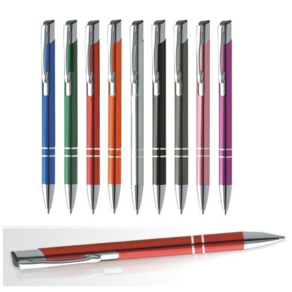 Metalowe długopisy grawerowane to świetny gadżet promocyjny dla każdej firmy