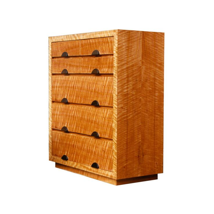 Figured Myrtle Chest of Drawers by Anton Gerner - bespoke contemporary furniture melbourne