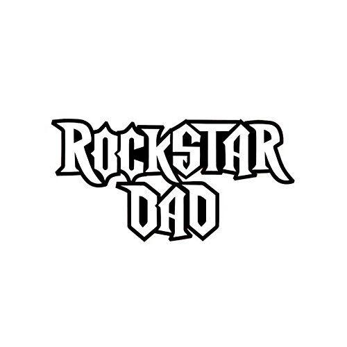 ROCKSTAR DAD VINYL STICKER