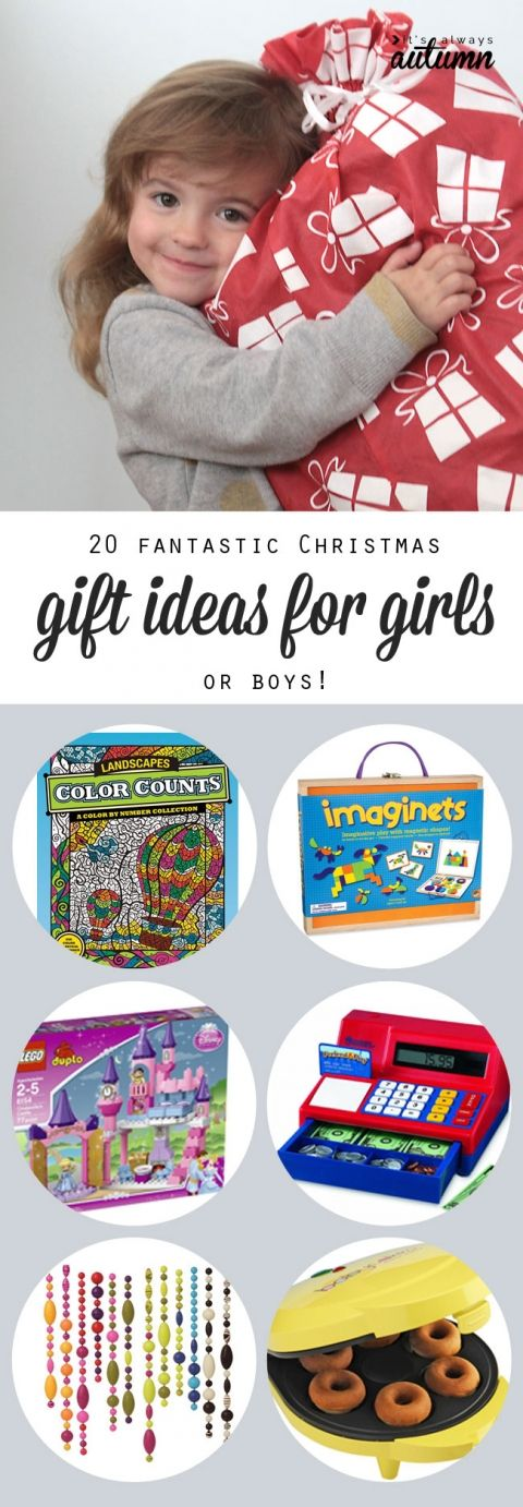 20 best Christmas gift ideas for girls - tried and true presents your kids will love. Actually, most of these would be great for boys, too!