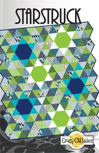 Starstruck Quilt Pattern. All the instructions you need to make the quilt pictured including cutting instructions for triangles. http://www.kayewood.com/item/StarStruck_Quilt_Pattern/2857/p7 $9.00