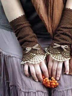 fingerless gloves and cuffs Inspiration ......
