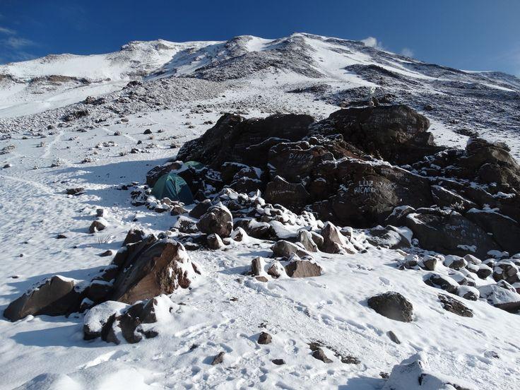 Das Campamento befindet sich auf 4.400 bis 4.600 Meter Höhe