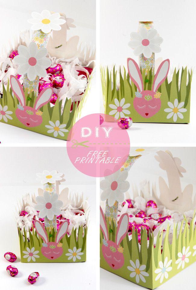 DIY joli panier de Pâques