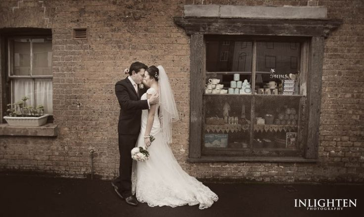 Location > THE ROCKS.  Inlighten Photography wedding portraits. Vintage, fun and romantic and portraits.
