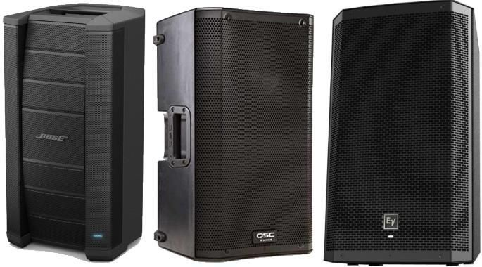 Here's a roundup of the Best Powered PA Speakers