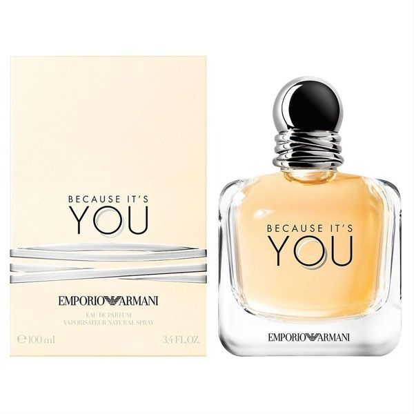 Because It S You Perfume By Emporio Armani 100ml Eau De Parfum Perfume Armani Perfume Emporio Armani Because It S You