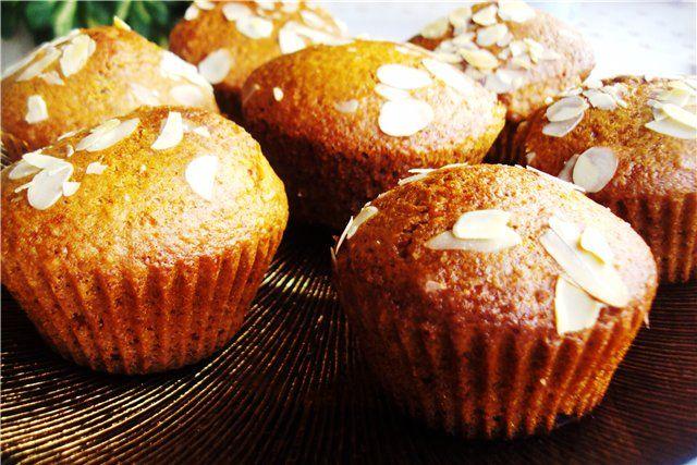 Медовые кексы. рецепт с фотографиями