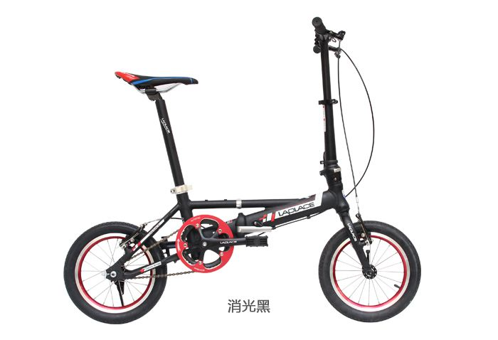 Fast shipping 14-inch folding bicycles double disc aluminum fahrrad adult mini bike folding bike