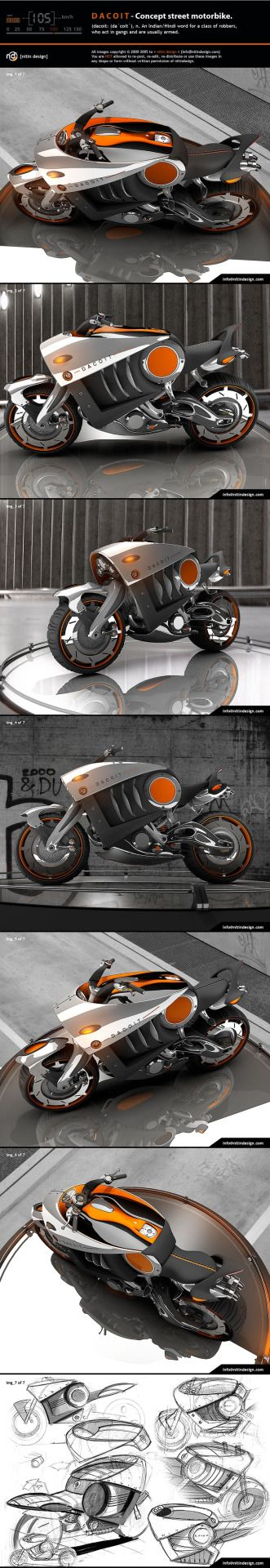 Concept Motorcycle : Photo