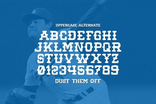 Font of the day: Wild Pitch