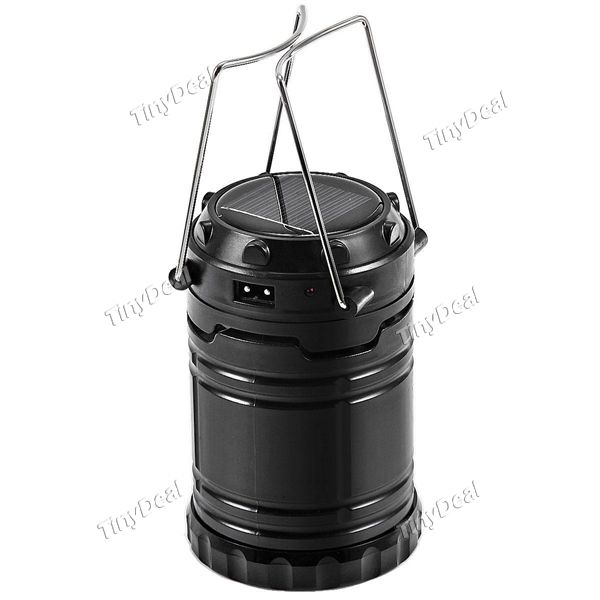 Portable LED Solar Power Rechargeable Camping Lantern Outdoor Camping Equipment HHI-511961