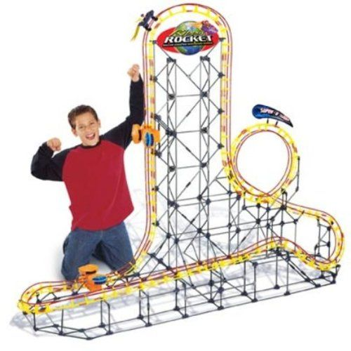 Check out these K'Nex Roller Coasters!  Awesome gift in a rockin' model that MOVES!