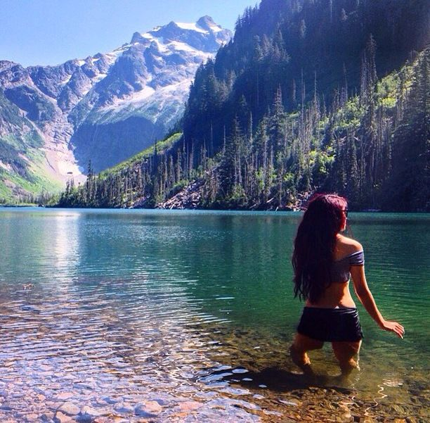 Goat Lake, Snohomish County, Washington