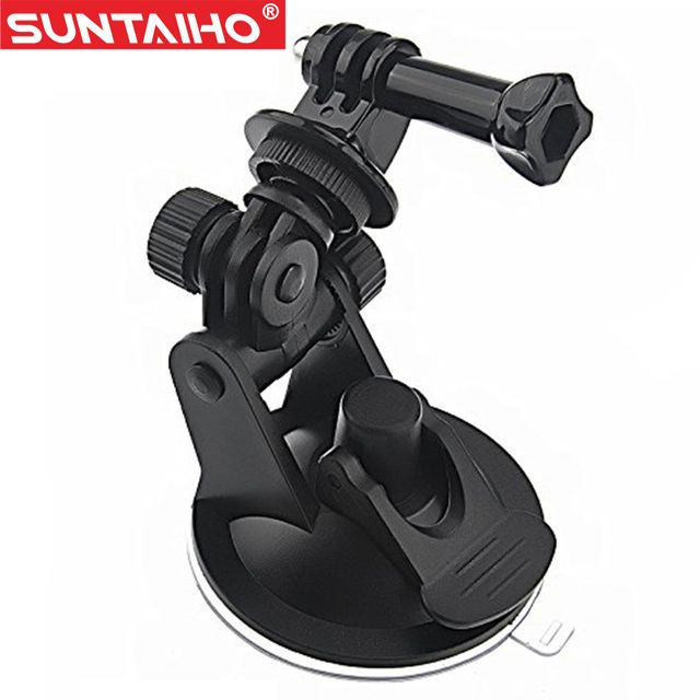 Action Camera Gopro Accessories Car Suction Cup Mount Holder Tripod Mount Adapter For SJ4000 GoPro Hero 3/4 Xiaomi Yi Sport Cam #electronicsprojects #electronicsdiy #electronicsgadgets #electronicsdisplay #electronicscircuit #electronicsengineering #electronicsdesign #electronicsorganization #electronicsworkbench #electronicsfor men #electronicshacks #electronicaelectronics #electronicsworkshop #appleelectronics #coolelectronics