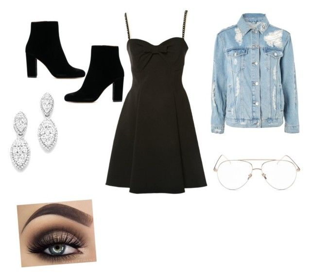 """""""Untitled #17"""" by jasmimosa on Polyvore featuring Miu Miu, Topshop, Linda Farrow and Bloomingdale's"""