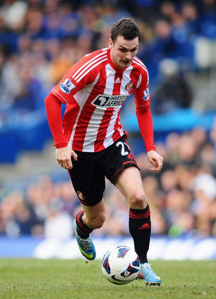 Adam Johnson of Sunderland AFC