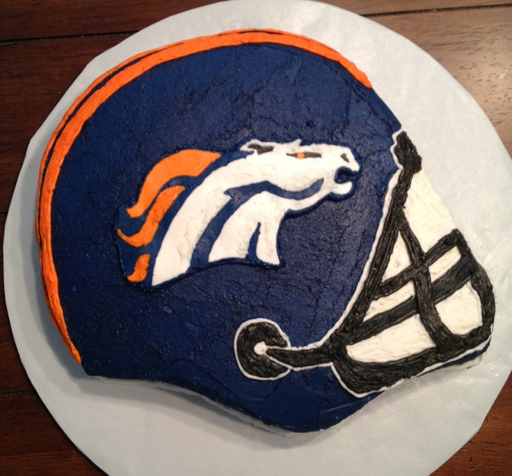 Broncos Cake | Simply Shane Delicious Treats and ...