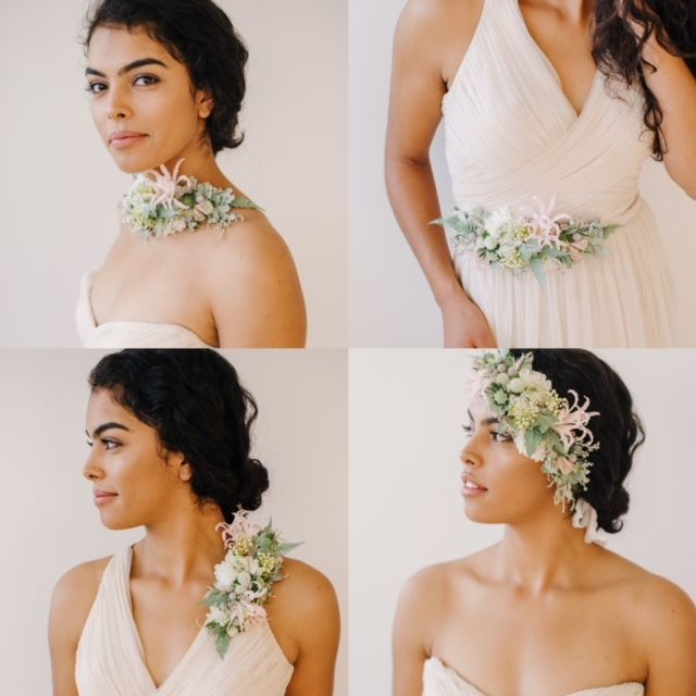 Floral Fashion With Susan Mcleary S Online Flower Design Tutorials Learn Step By Step How To Make Up Floral Hair Crown Corsage Wedding Wedding Decor Elegant