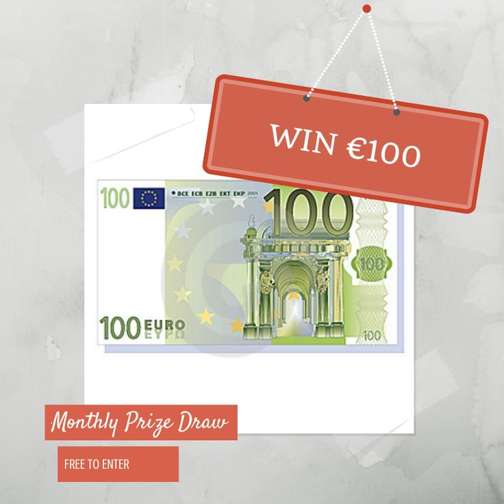 Win €100 cash monthly from Voucher Pages. Just enter your details and Voucher Pages will pick one random winner every month.