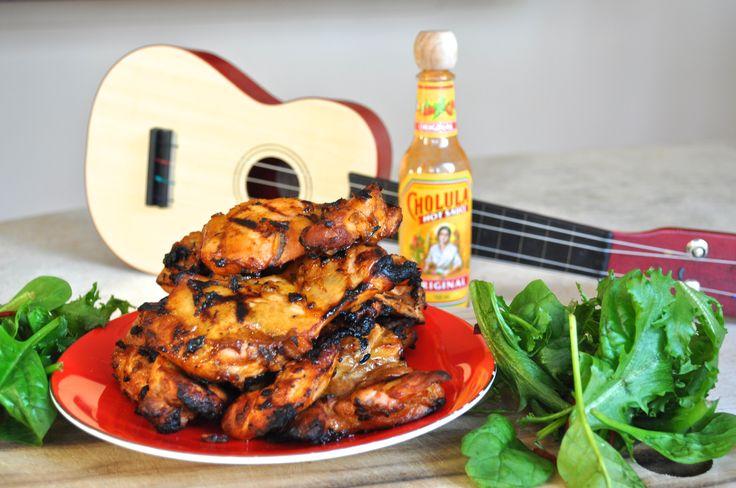 Spicy Cholula BBQ Chicken   Blog    http://www.gingernotes.com/spicy-cholula-bbq-chicken/