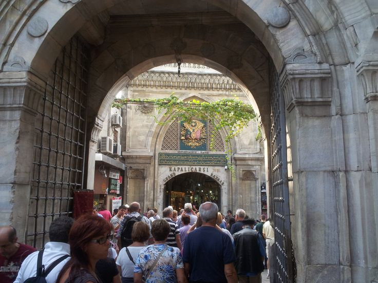 ingresso al Kapali carsi (Gran Bazar a Istanbul)