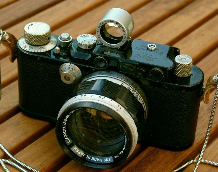 Leica III (1935) mit Canon RF 1.4/50mm (ca.1960)