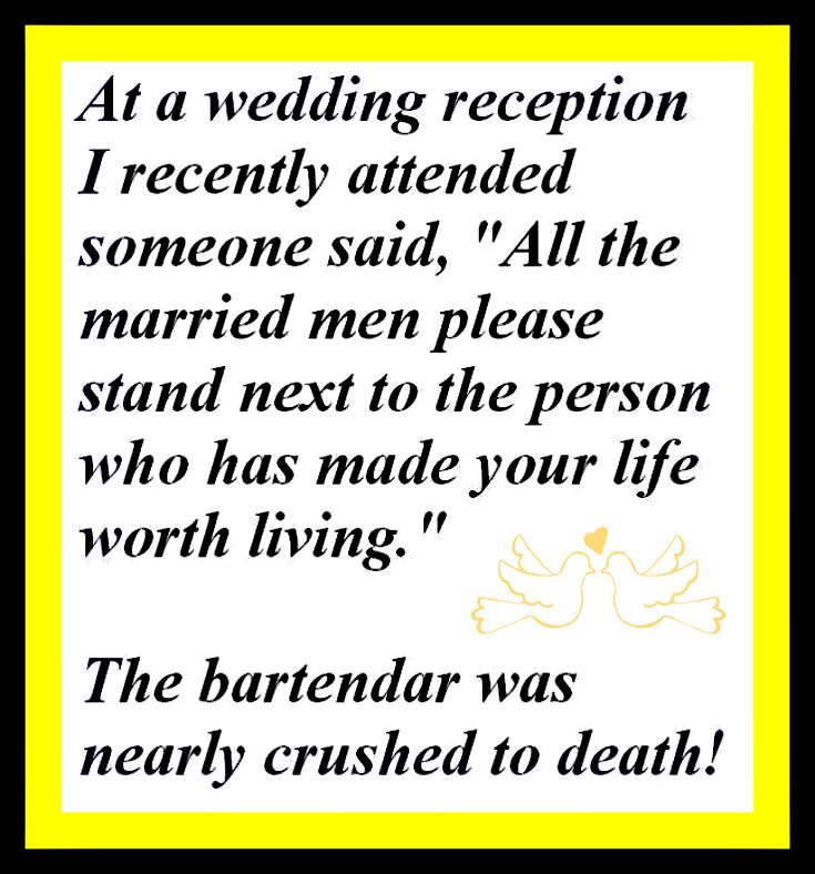 Adding humor to any stressful situation helps to lighten the load.  Whether it is the reception, rehearsal dinner, engagement party or wedding, find the humor as these did. Contact us for your ring though, that isn't funny.