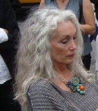 This is how fab i want to look when I'm older. Love the hair and jewelry.