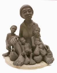 escultura em argila - Pesquisa Google