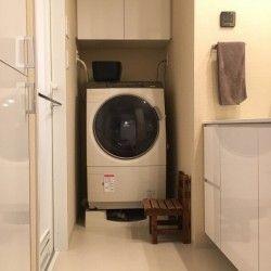 浴室乾燥の 干しきれない 乾かない は 道具で解消 脱衣所 洗面
