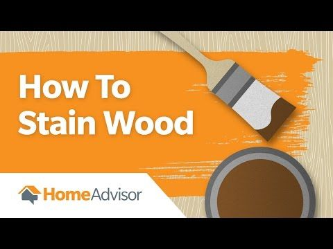 Not all staining is simple. Watch this video do learn how to stain wood like a pro: https://youtu.be/pR73hXCUZtk #wood #staining #stainwood #DIY #homeprojects