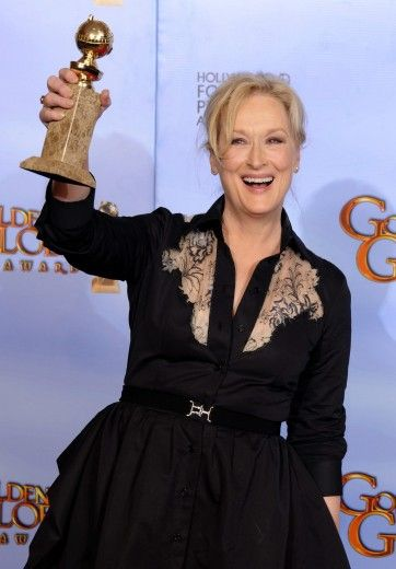 Maryl Streep! A myth!