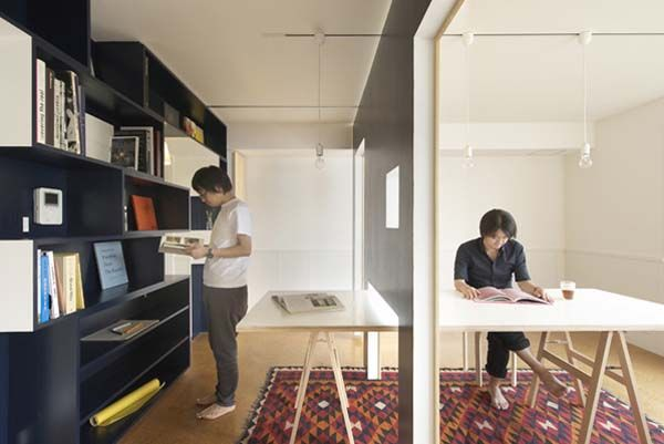 001 Transforming a small apartment into a home office/living space hybrid