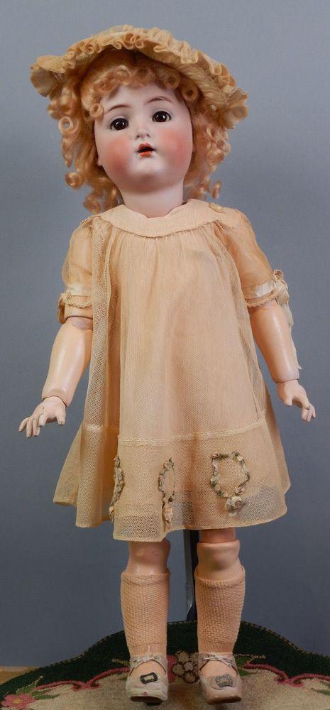 """*RARE* 23"""" Kammer & Reinhardt 403 Child All Factory Original Antique Doll"""